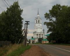 Свято-Троицкая церковь в с. Кстинино